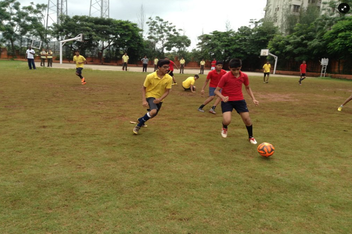Akshara International School-Sports football