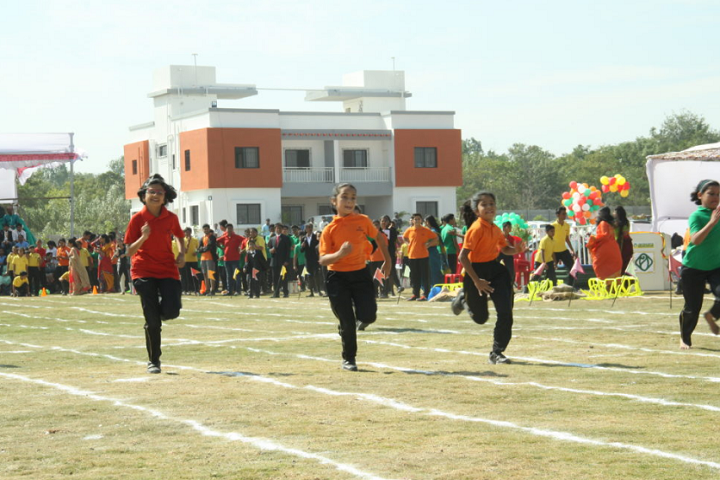 Akshara International School-Sports running