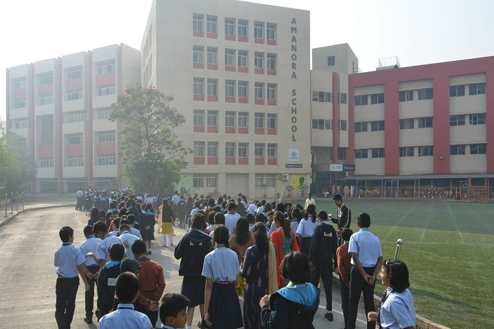 Amanora School-Campus-View