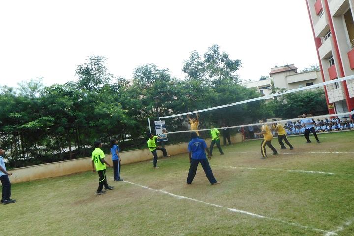 Amanora School-Sports vollyball