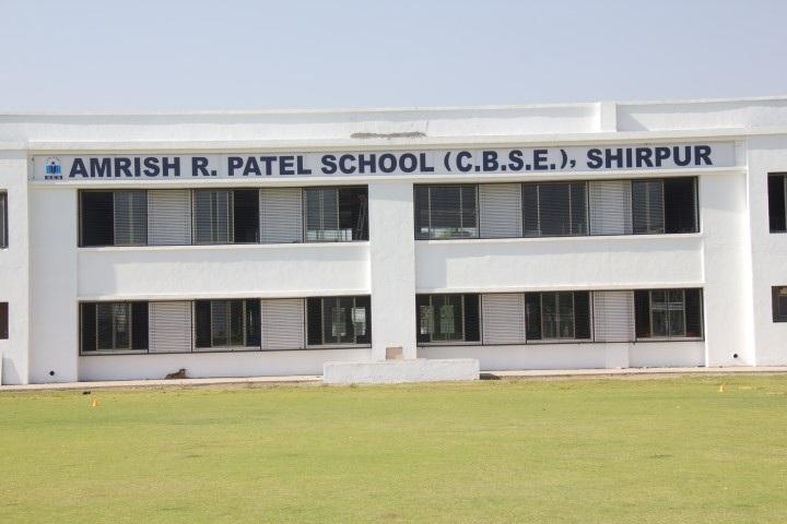 Amrishbhai R Patel School-Campus-View front