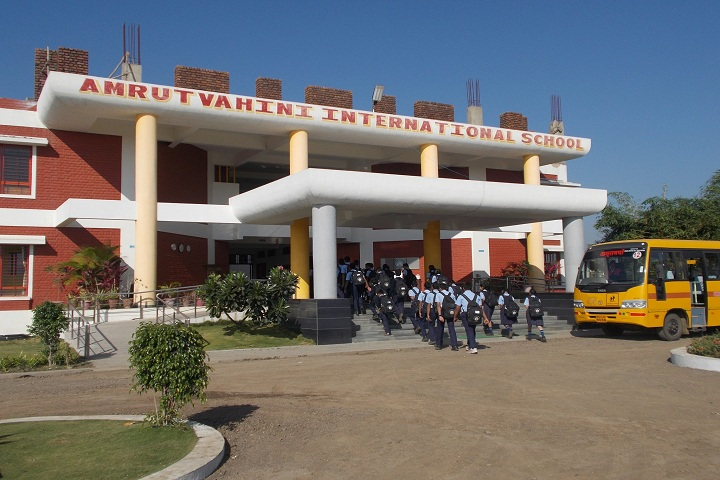 Amrutvahini International School-Campus-View entrance