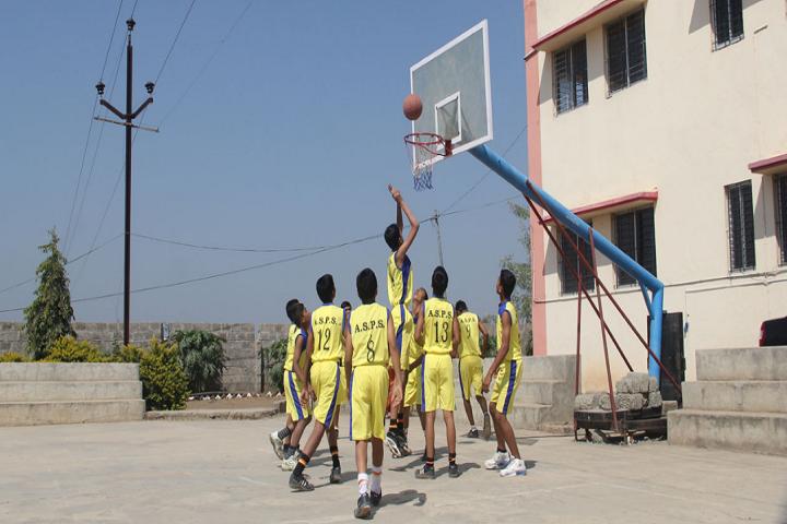 Anandsagar Public School-Sports basketball
