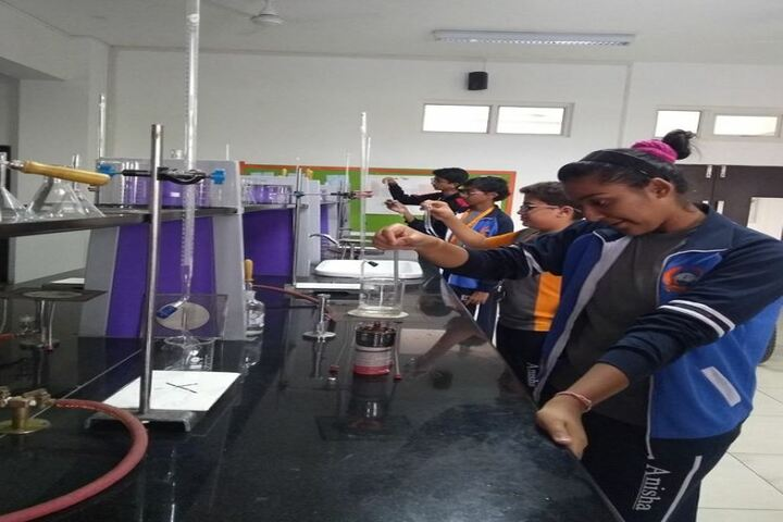 Anisha Global School-Chemical Lab