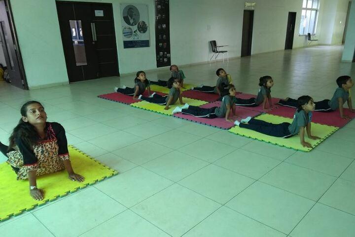 Anisha Global School-Yoga