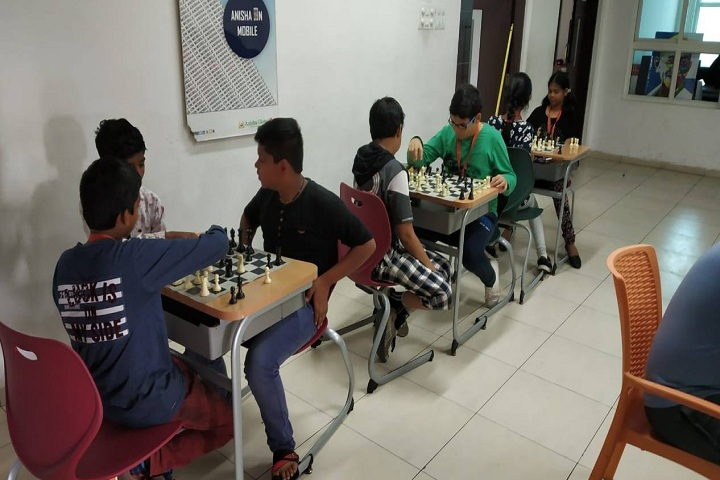 Anisha Global School-Indoor Games