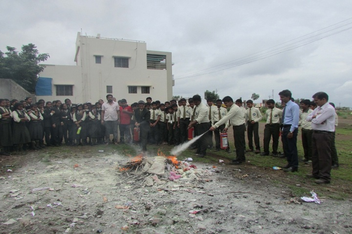 Annasaheb Balasaheb Chakote English School-Demo Of Fire Safety