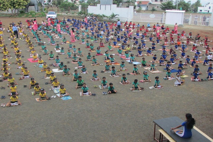 Annasaheb Balasaheb Chakote English School-Yoga Day