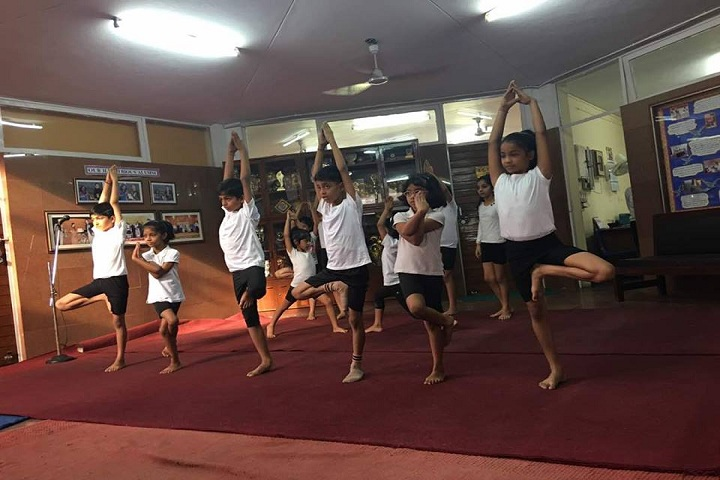 Apeejay School-Yoga