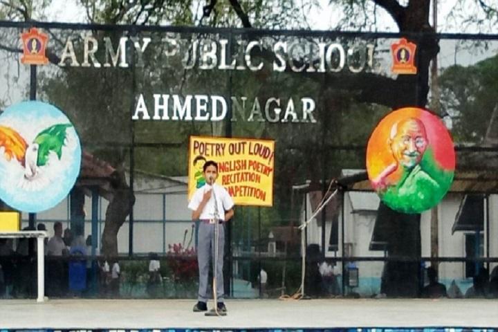 Army Public School-Recitations Competitions