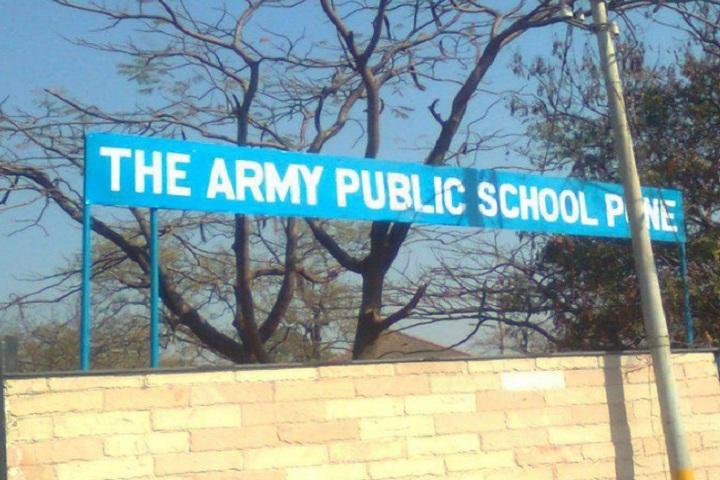 Army Public School-School entrance