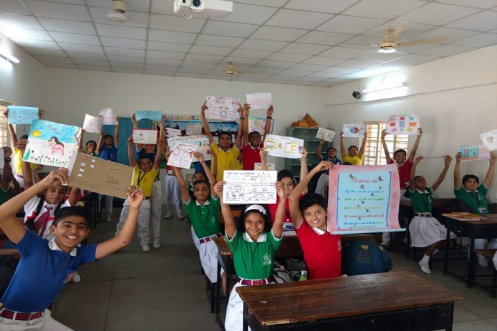 Army Public School-Poster Making Competition