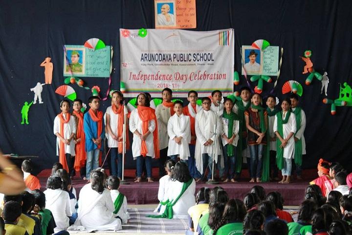 Arunodaya Public SchooL-Independence Day