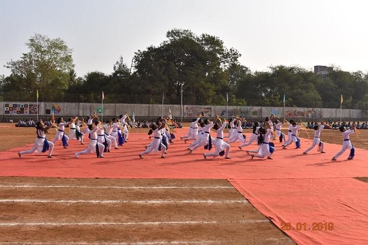 B K Birla Public School-Republic Day