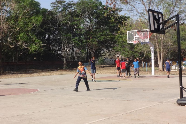 Balniketan Air Force School-Basket Ball Court