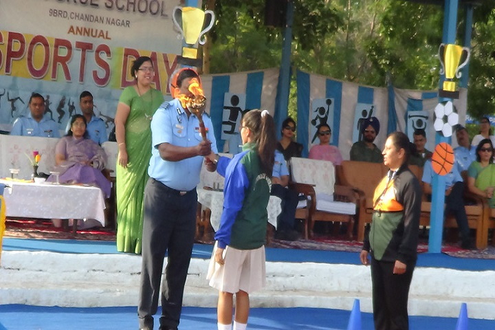 Balniketan Air Force School-Sports Day
