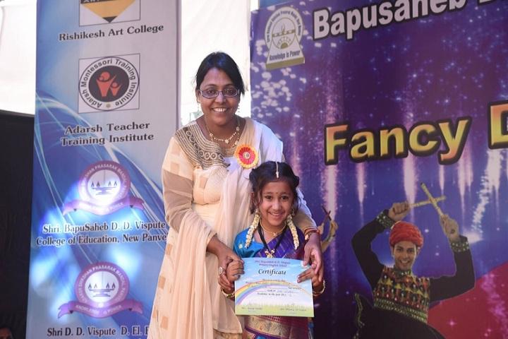 Bapusaheb D D Vispute Primary English School-Fancy Dress Winner