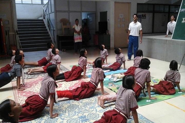 Bapusaheb D D Vispute Primary English School-Yoga