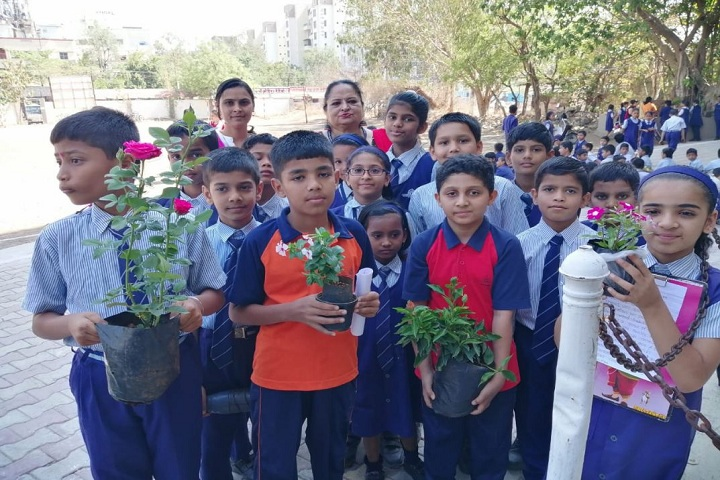 Bharati Vidyapeeth English Medium School-Earth Day