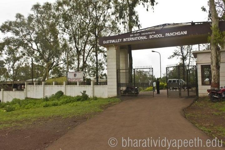 Bharati Vidyapeeth GodS Valley International School-Campus Front View