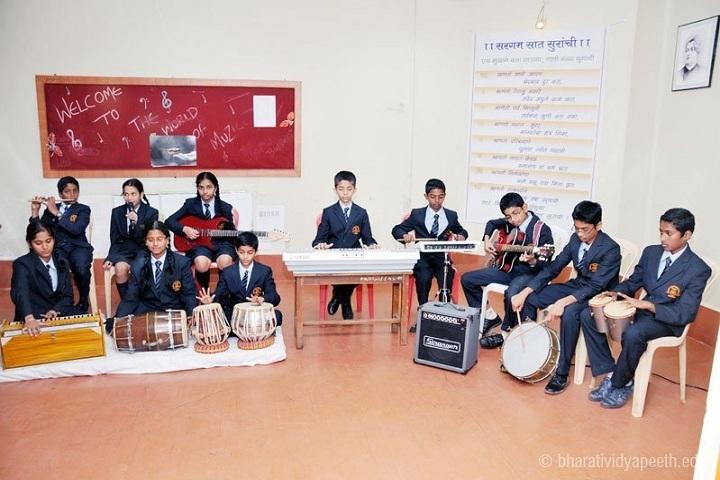 Bharati Vidyapeeth GodS Valley International School-Music Class