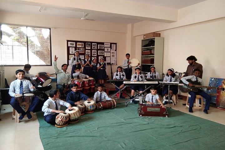 Bharati Vidyappeth English Medium High School-Music