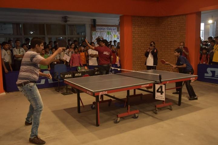 Bharatiya Vidya Bhavan-Table Tennis