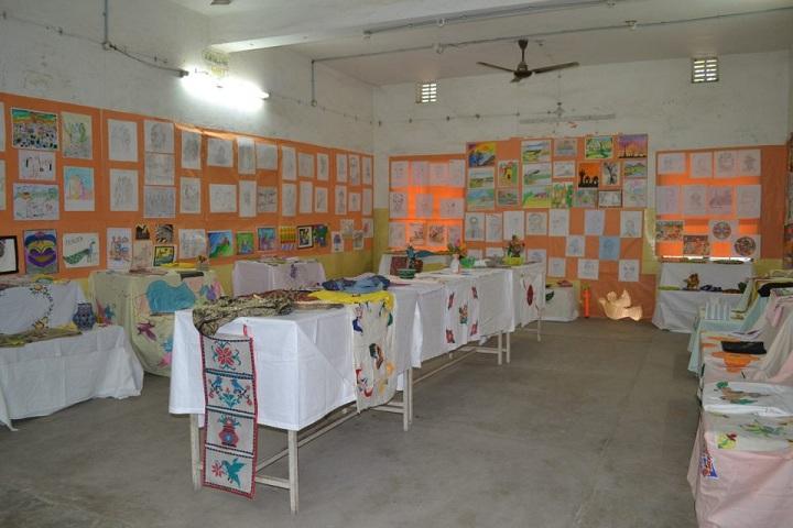 Bharti Krishna Vidya Vihar-Art and Craft Exhibition