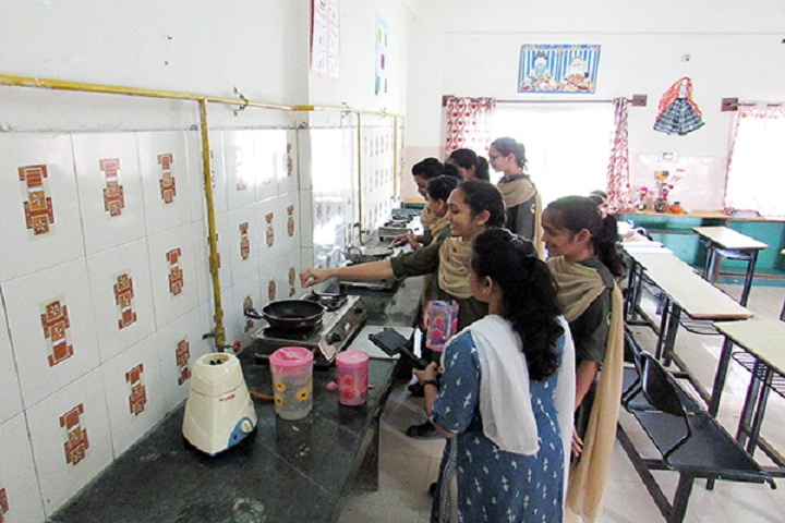 Blossom Public School-Home Science Lab