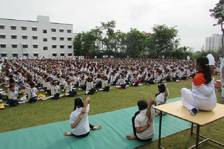 Blossom Public School-Yoga