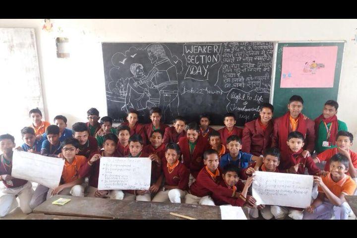 Chauhan Public School- Weaker Section Day