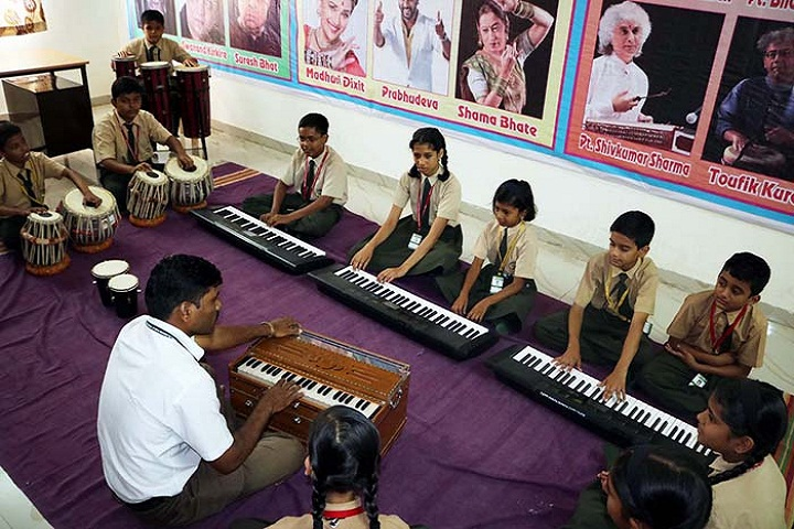 Blossom Public School-Music Room