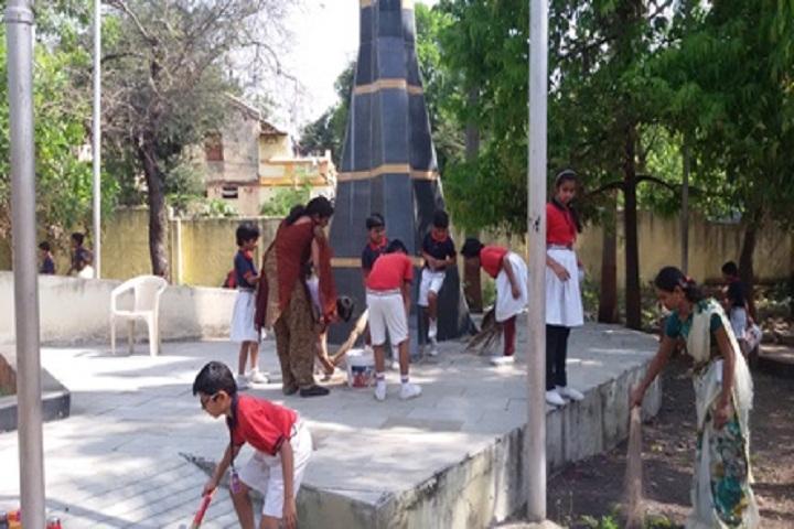 Buldana Cambridge School-Swacch Bharath