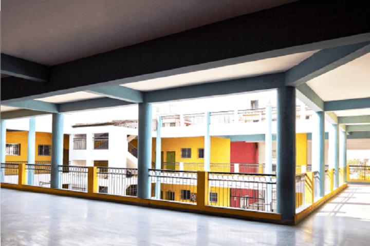 Central India Public School-Corridors