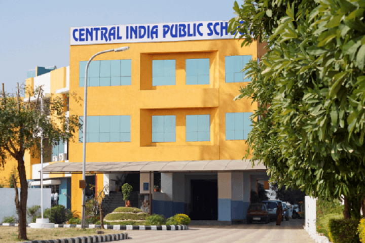 Central India Public School-Campus Front View