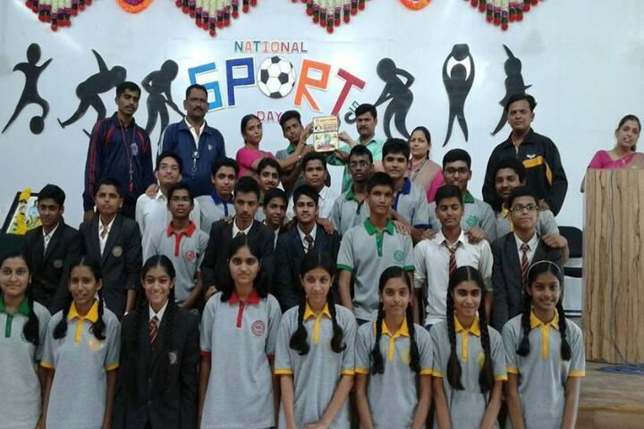 Chate School-National sports day