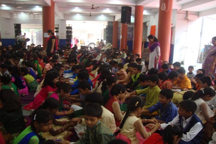 Chinmaya Vidyalaya-Rakhi Celebration