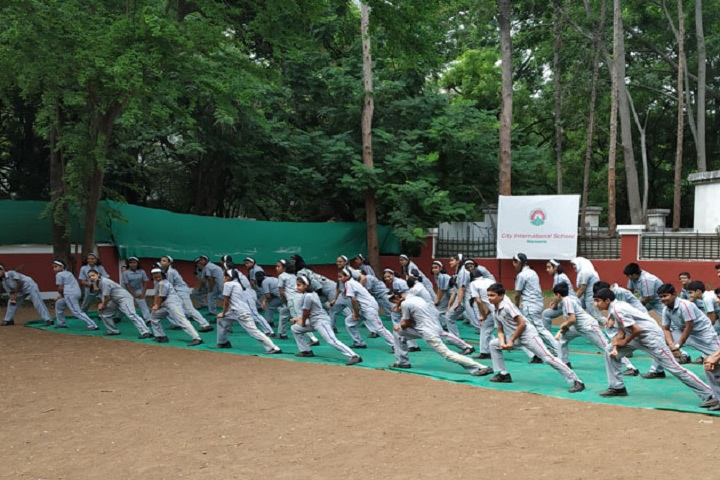 City International School-Yoga Day