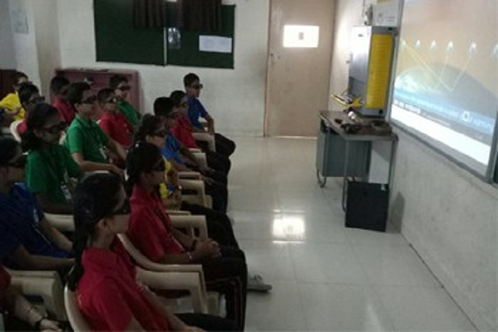 City International School-Audio Visual Room
