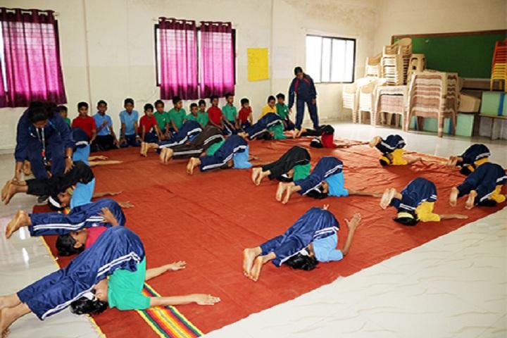 Cygnet Public School New Narhe-Yoga Room