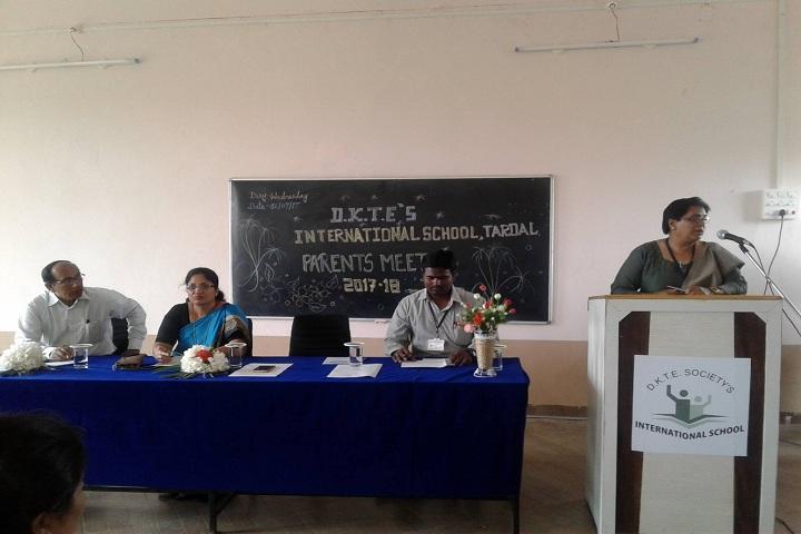 D K T E Society s International School-Parents Meet