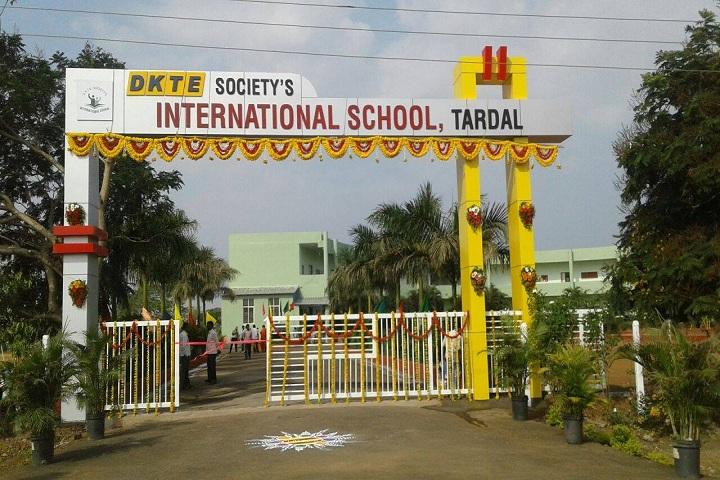 D K T E Society s International School-Entrance View