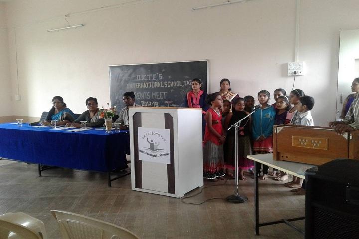 D K T E Society s International School-Singing