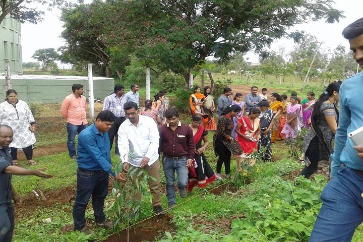 D K T E Society s International School-Tree Plantation