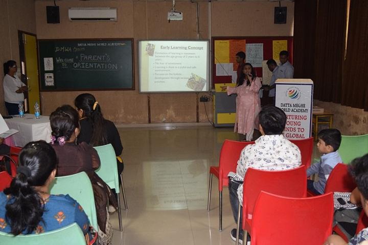 Datta Meghe World Academy-Classroom