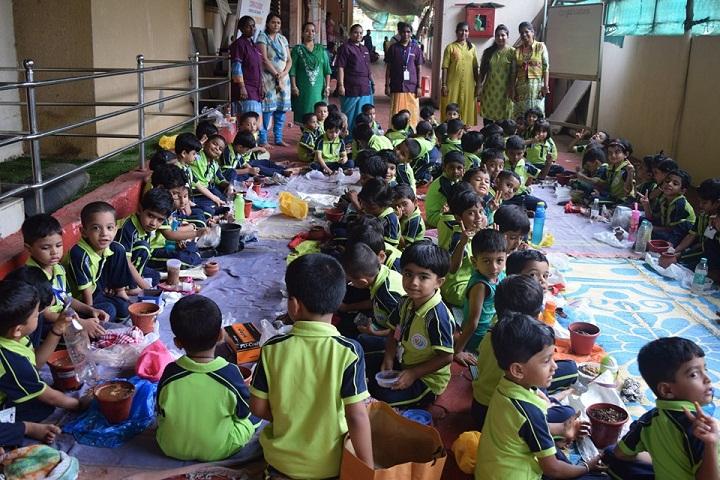 Datta Meghe World Academy-Plantation Activity