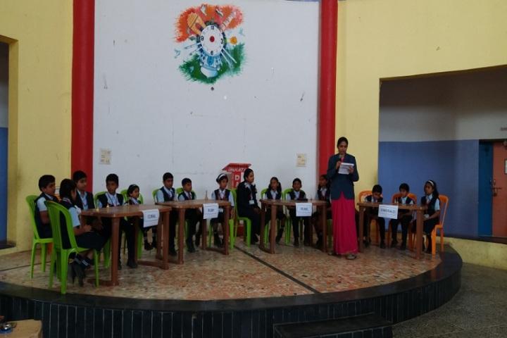 Daulati International English Medium School-Quiz Competition