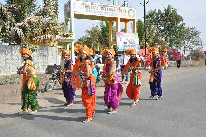 Daulati International English Medium School-Festival Celebrations