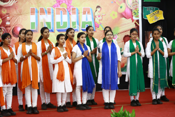 Dav International School-Independence Day