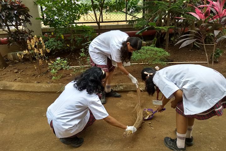 Dav International School-Swachh Bharat Activity